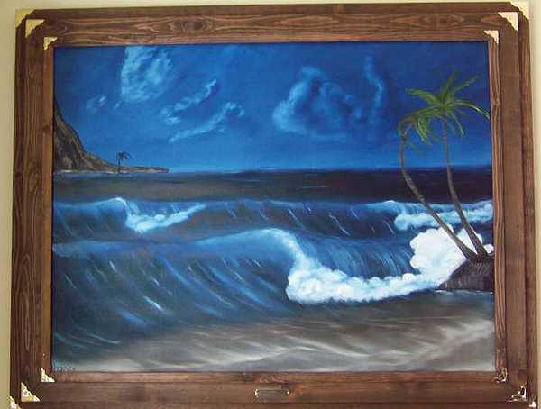 Aloha Painting by Sheldon Kiroff