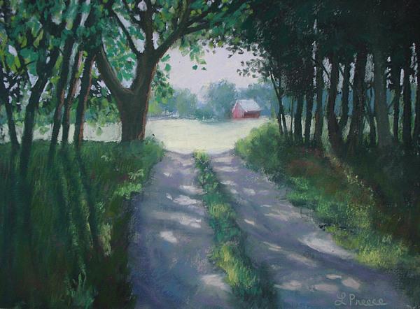 Landscape Painting - Along Kelderhouse Road by Linda Preece