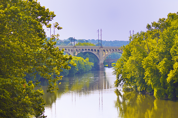 Schuylkill Photograph - Along The Schuylkill River In Manayunk by Bill Cannon