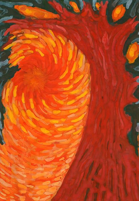Colour Painting - Always Near You by Wojtek Kowalski