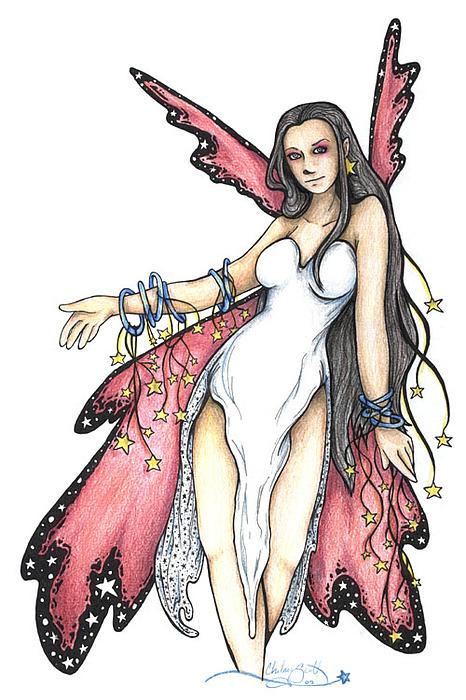 Farie Drawing - Ambrosia by Chelsey Scott