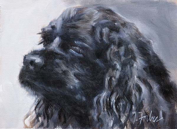 American Cocker Spaniel Painting - American Cocker Spaniel by Isabel Forbes