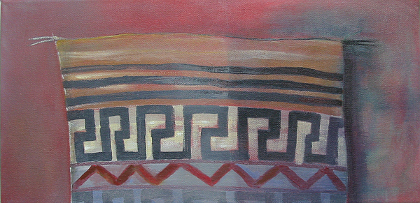 Indian Painting - American Indian Motiv by Eve Corin