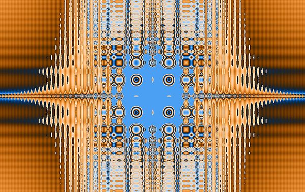 Digital Digital Art - American Indian Weave by Thomas Smith
