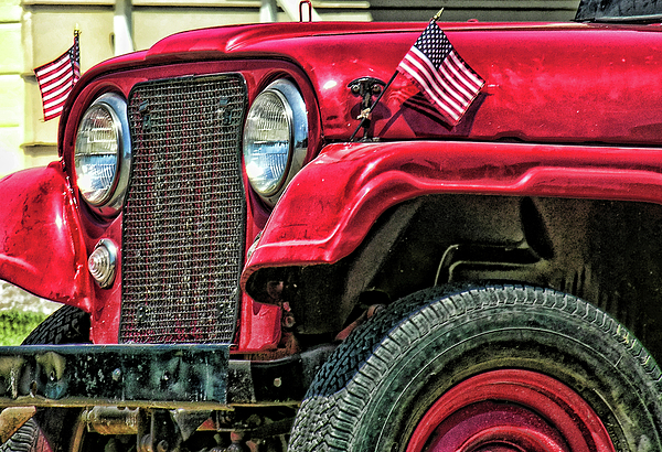 Jeep Photograph - American Willys by Adam Vance