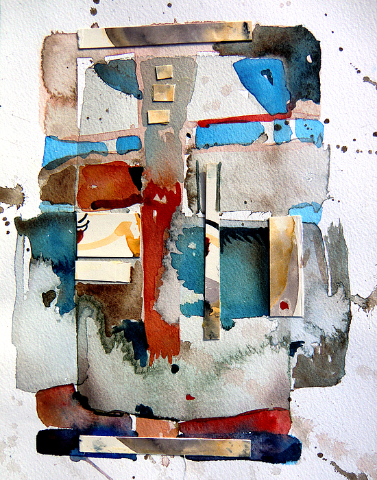 Collage Painting - Americana by Mindy Newman