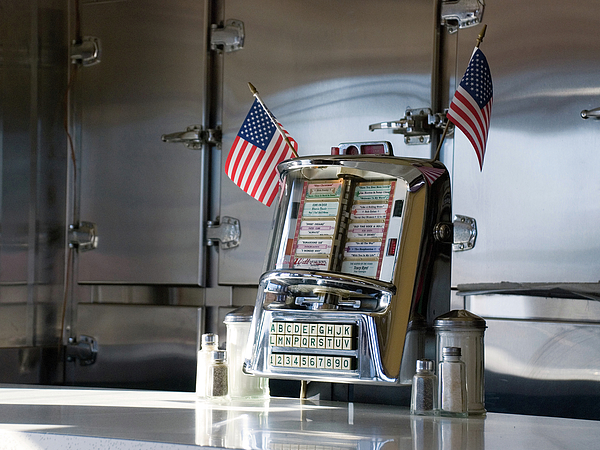 Diner Photograph - Americana by Randy Ford