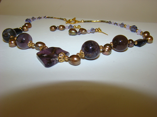 Jewelry Jewelry - Amethyst Royalty by Deborah Lynch