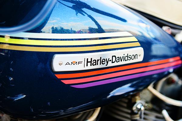 Amf Harley Davidson Gas Tank Photograph By Paul Ward