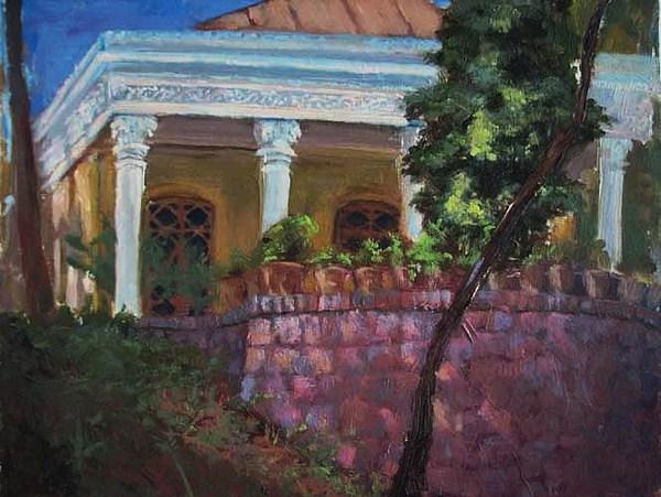 Old Building Painting - Amir Kabir House In Gheytariye Park by Mehrdad Sedghi
