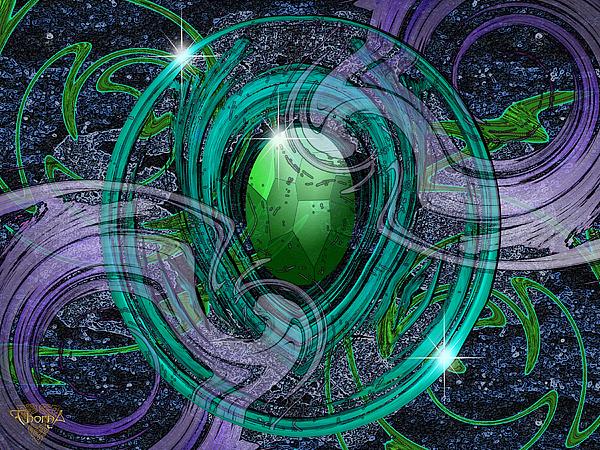 Graphic Design Digital Art - Amulet by Greg Piszko