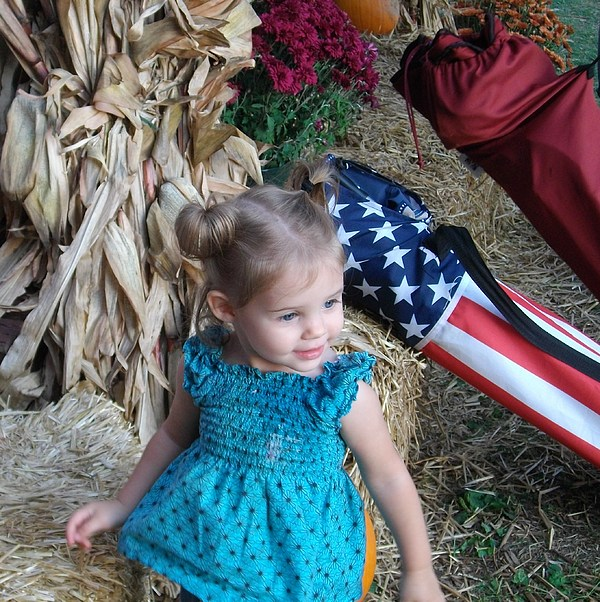 American Photograph - An American Girl by Sherry  Kepp