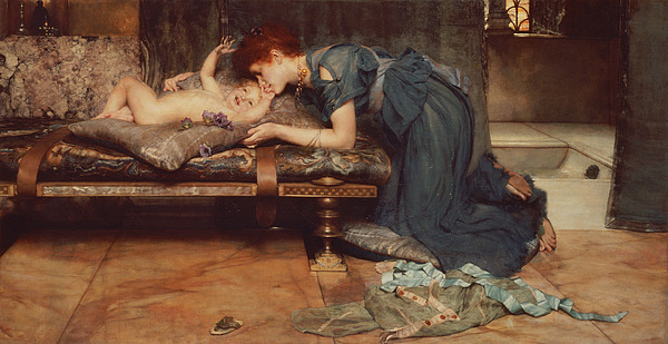 Earthly Painting - An Earthly Paradise by Sir Lawrence Alma-Tadema