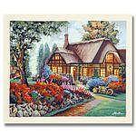Serigraph Print - Anatoly Metlan Country House by Anatoly Metlan