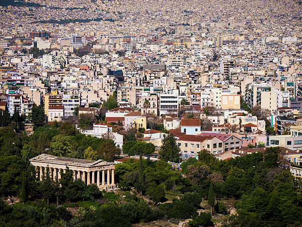 Athens Photograph - Ancient Agora Of Athens by Rae Tucker