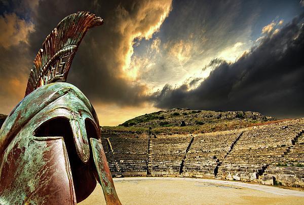 Greece Photograph - Ancient Greece by Meirion Matthias