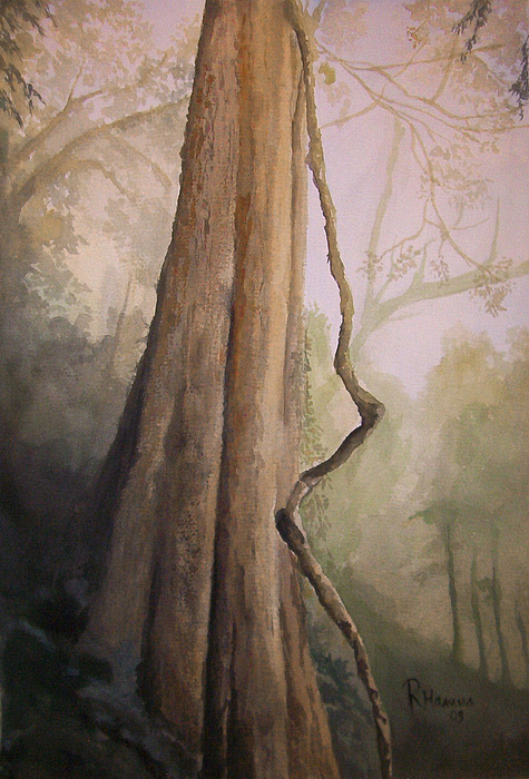 Landscape Painting - Ancient Life by Rachel Hames