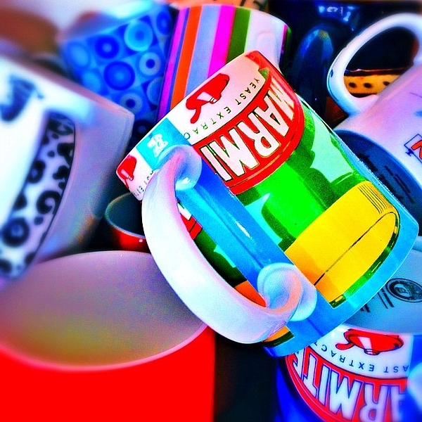 Mugs Photograph - And A Jumble Of Mugs.... #mugs #jumble by Mark  Thornton