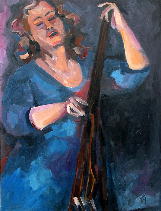 Andrafaye Painting by Jackie Merritt