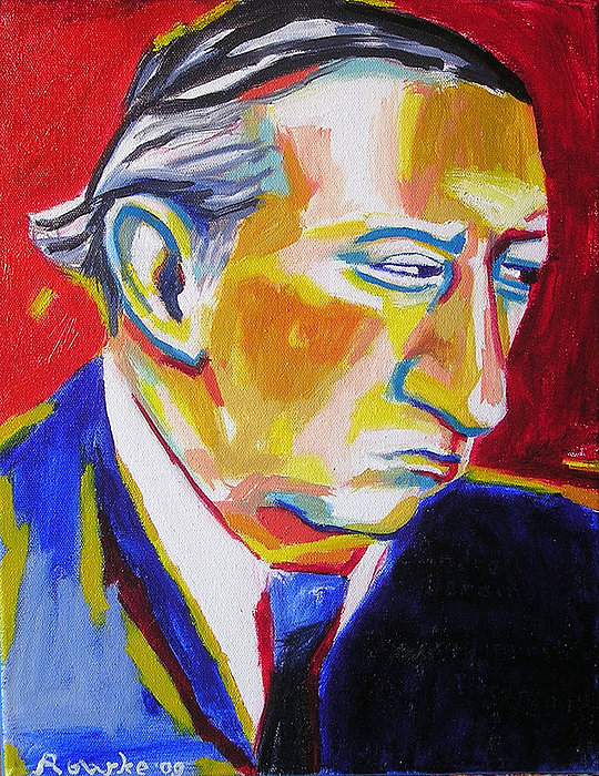 French Artist Painting - Andre Derain by Nancy Rourke