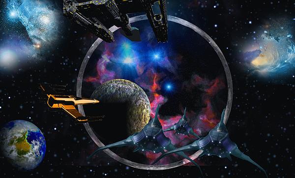 Andromeda Beckons Digital Art by David Jackson