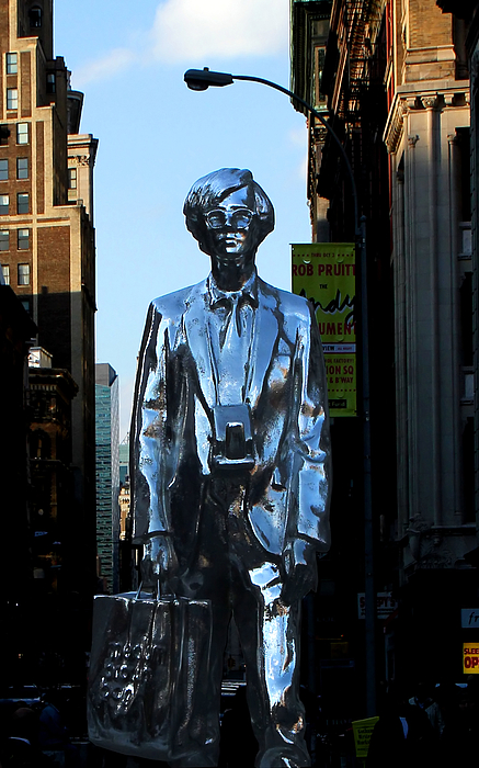 New York City Photograph - Andy Warhol New York by Andrew Fare