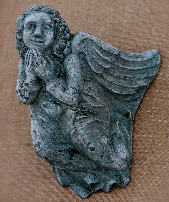 Angel Sculpture - Angel by Katia Weyher