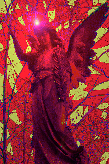 Andel Mixed Media - Angel Of Blesss No. 05 by Ramon Labusch