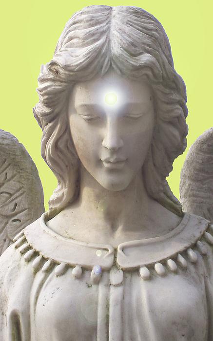 Angel Of Devotion Mixed Media - Angel Of Devotion No. 12 by Ramon Labusch