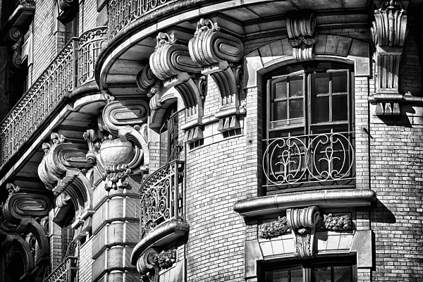 Us Photograph - Ansonia Building Detail 36 by Val Black Russian Tourchin