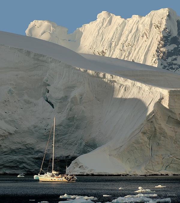 Antarctic Photograph - Antarctic No. 7 by Joe Bonita