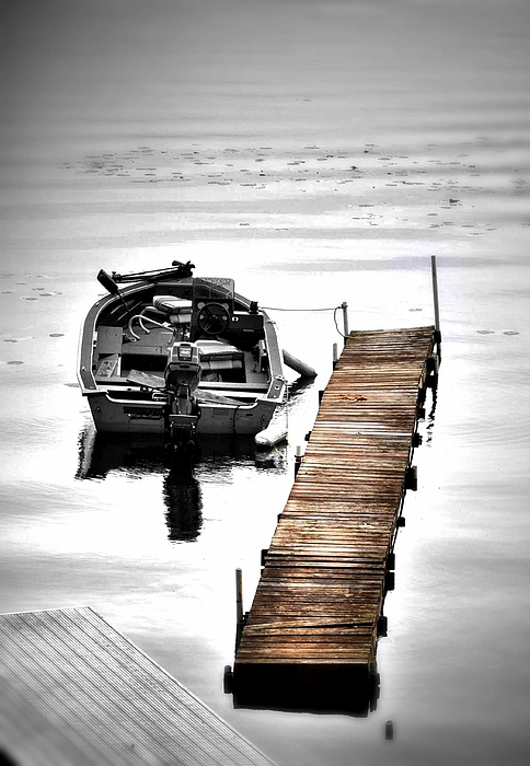 Water Scene Photograph - Anticipation by Emily Stauring
