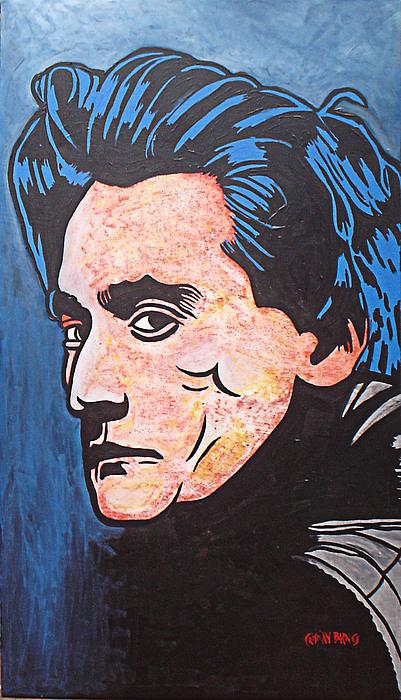 Antonin Artaud Painting by Cristian Barnes