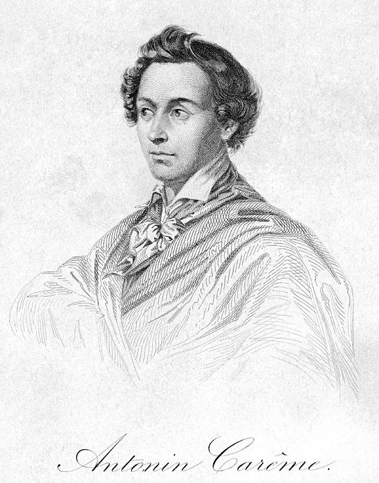 19th Century Photograph - Antonin Car�me (1783-1833) by Granger