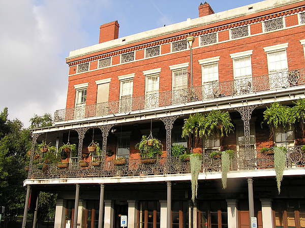 New Orleans Photograph - Apartments French Quarter by Jack Herrington