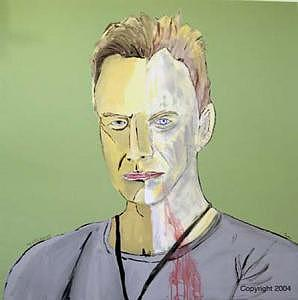 Sting Painting - Apocalypta by Sardine and Tobleroni The Monkey in the Box