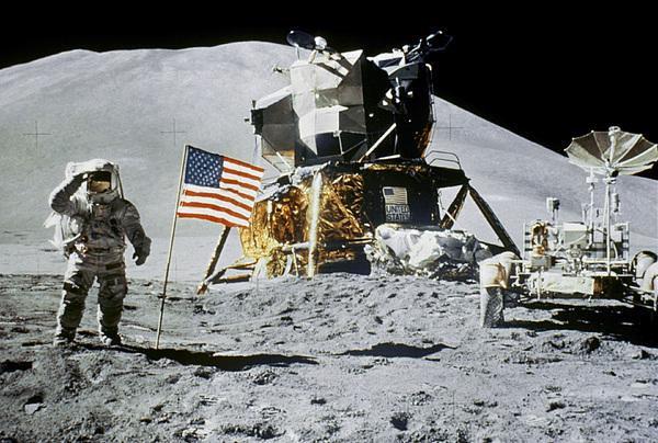1971 Photograph - Apollo 15: Jim Irwin, 1971 by Granger