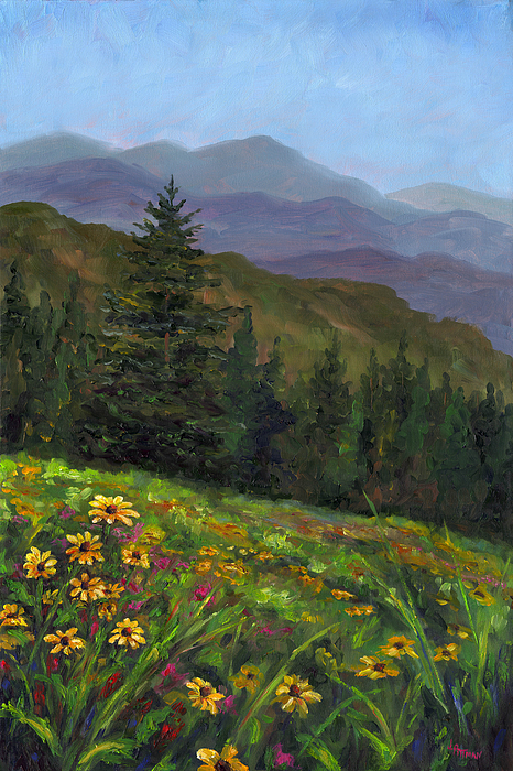 Appalachian Color Painting by Jeff Pittman