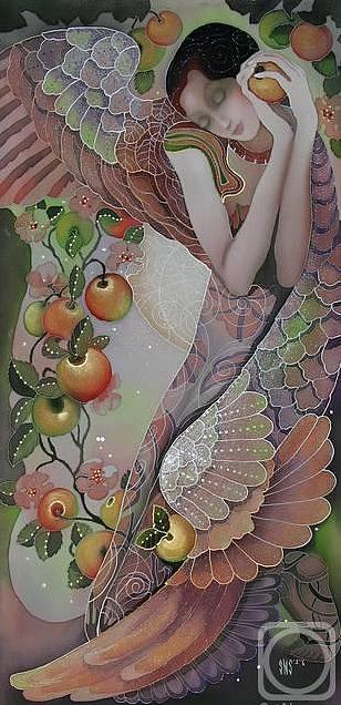 Impressionism Painting - apple Spas by  Sokolova Nadezhda