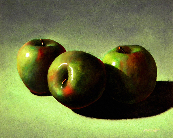 Still Life Painting - Apples by Frank Wilson