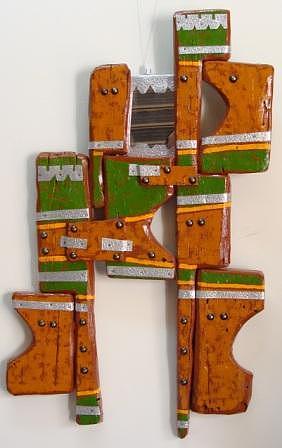 Abstract Mixed Media - Approach 21 by Mahmoud Alhsi