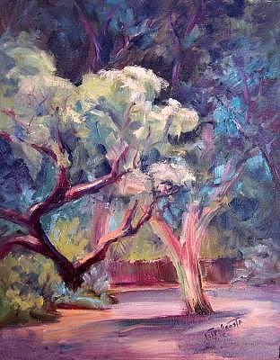 Arboretum Painting by Geri Acosta