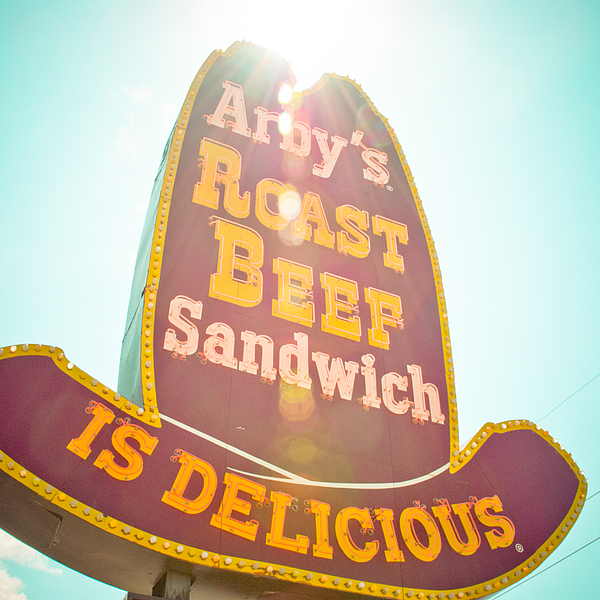 Oklahoma Photograph - Arbys by David Waldo