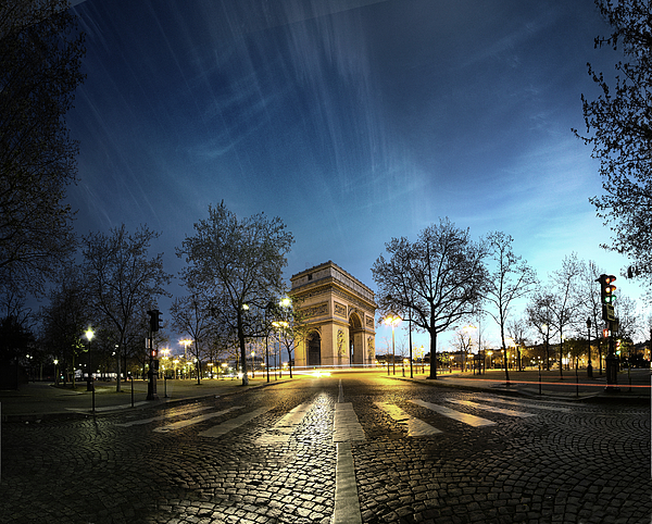 Horizontal Photograph - Arc Of Triumph by Pascal Laverdiere