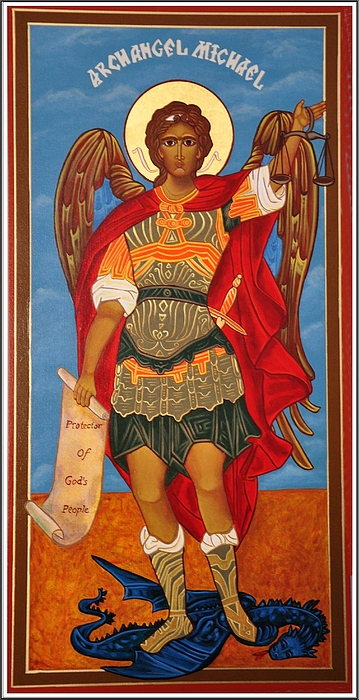 Angel Photograph - Arch Angel - St Michael by Bill Cannon