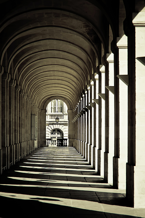 Vertical Photograph - Arches Of Grand Theatre by Mickaël.G