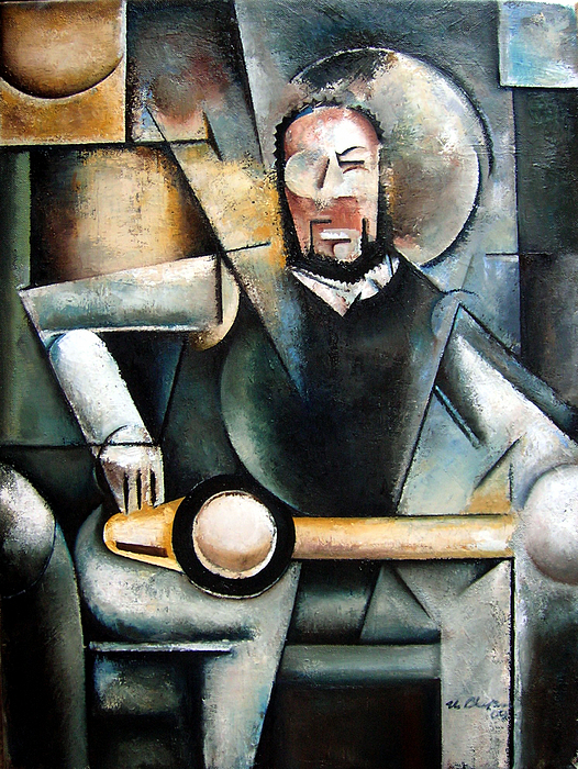 Architect Painting by Martel Chapman