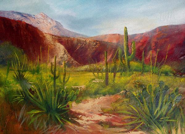 Landscape Painting - Arizona Beauty by Robert Carver