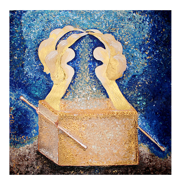 Ark Painting - Ark Of The Covenant  by Alisa Poplavskaya