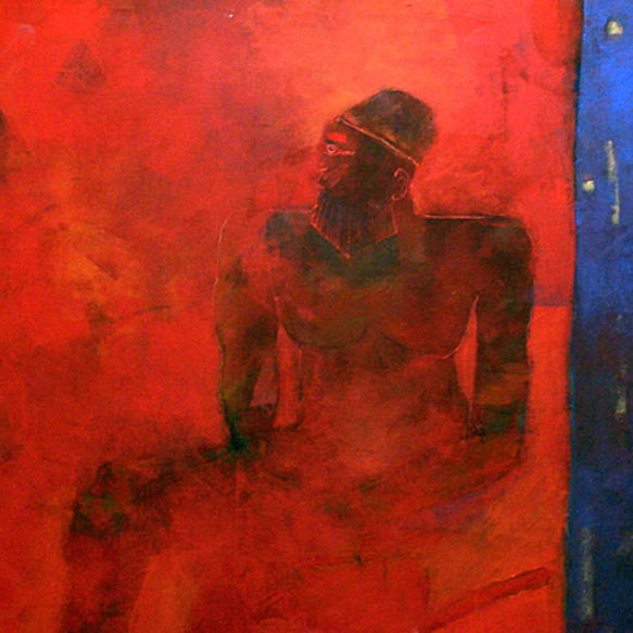 Abstract Painting - Arkamani King 1 by Islam Kamil